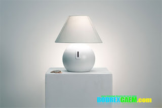 Coin Lamp Bank