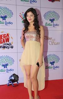 Actress Richa Panai Latest  Pictures at Memu Saitam Dinner with Stars Red Carpet  13.jpg