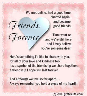 friends forever  poem