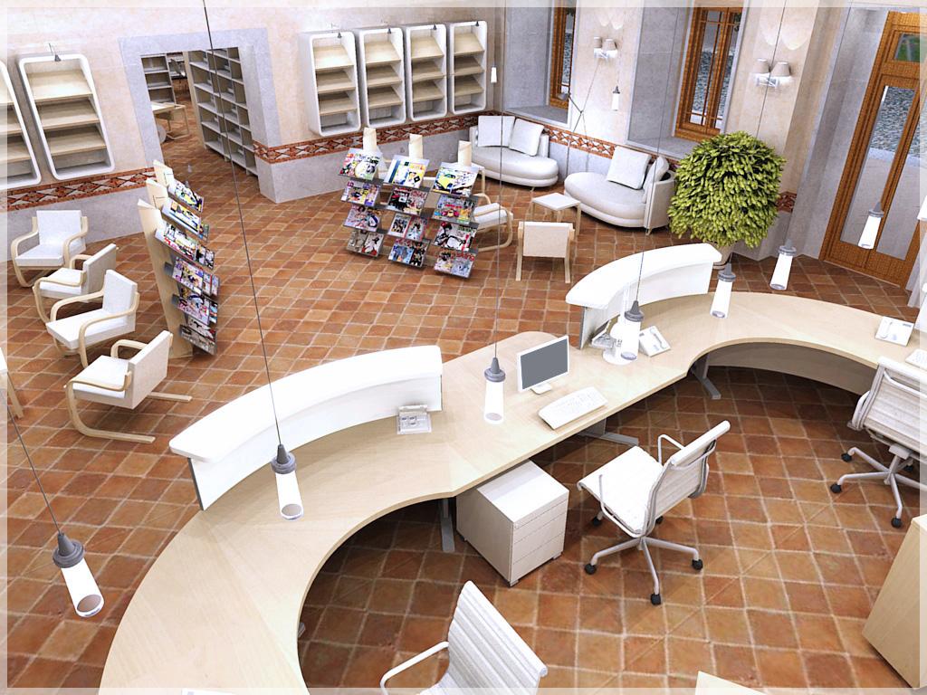 Bluline arredi biblioteca for Arredi ecosostenibili