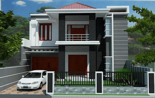 gambar rumah minimalis tipe 36 bertingkat