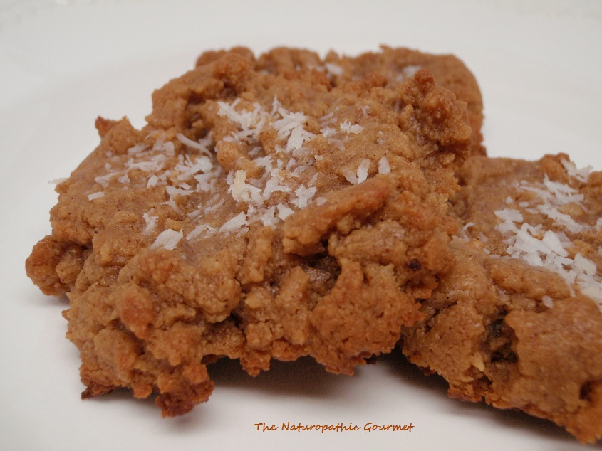 The Naturopathic Gourmet: Almond Butter Cookies