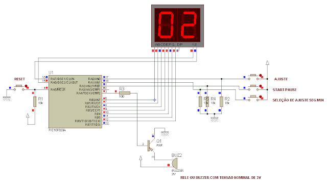 Projeto 20: Timer utilizando o PIC16F628A