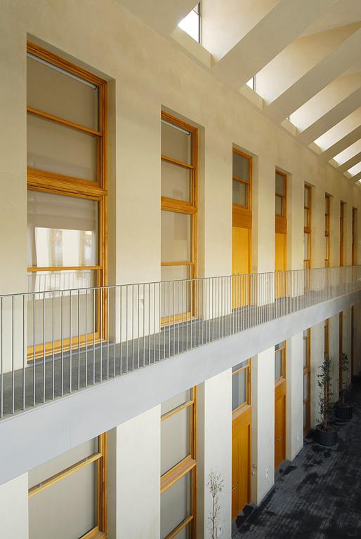 Re habitar reconversi n de f brica en viviendas en - Arquitectos sabadell ...