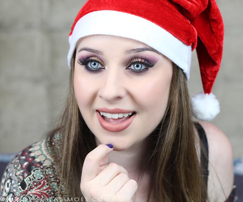 tutorial de maquiagem com glitter