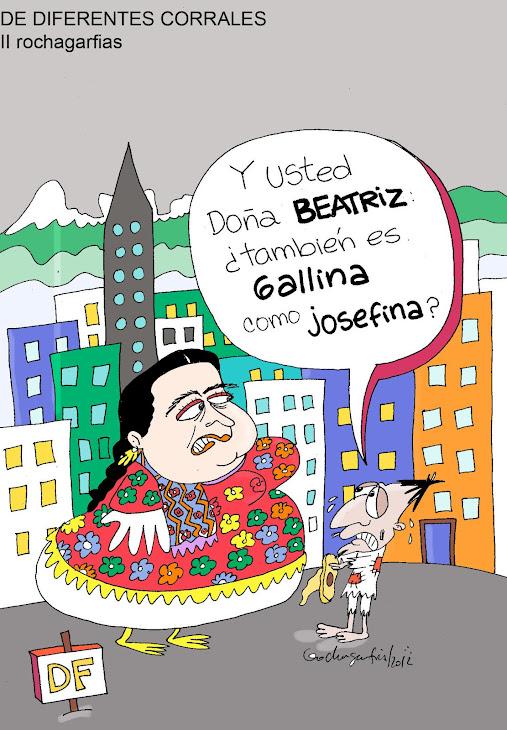 Beatriz Paredes, ahora pal DF.