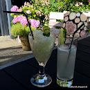 Gin og tonic granita