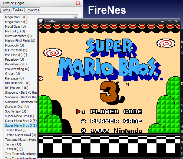 Firenes - Play Nintendo Games in Firefox