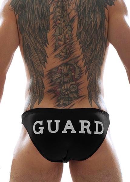GBGB Wear GUARD Swim Bikini Black