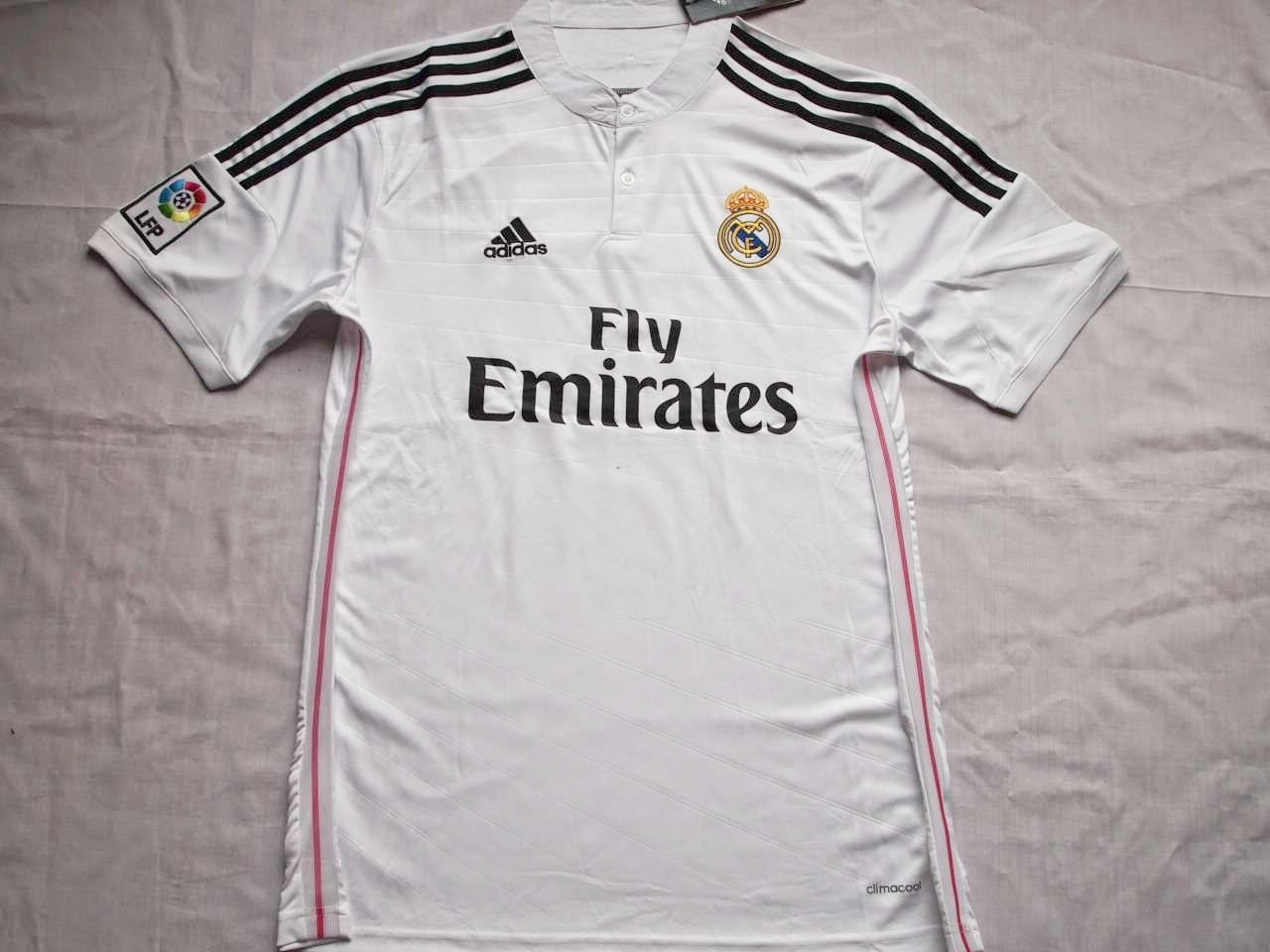 Jersey GO Real Madrid Home 2015 Official