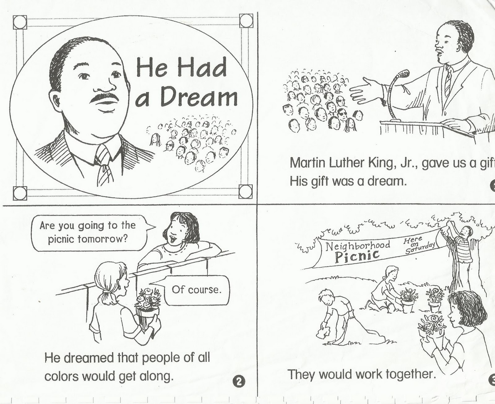 thesis statement on dr martin luther king jr