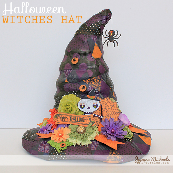 Fright Delight Witches Hat by Juliana Michaels