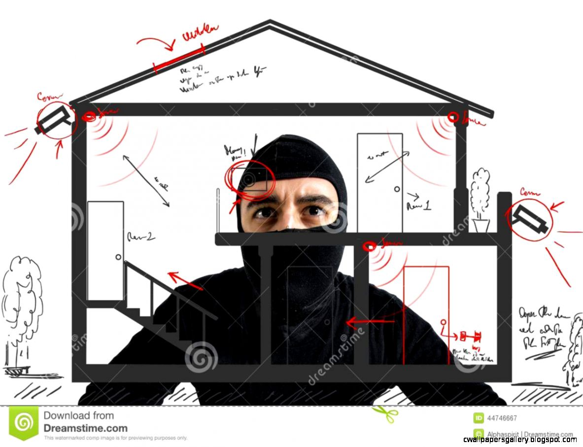 Thief Apartment Stock Photo   Image 44746667