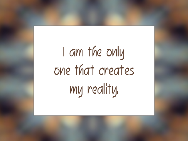 LAW OF ATTRACTION affirmation