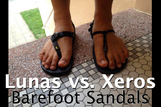 luna monos vs. xero shoes sensoris