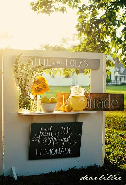 lemonade wedding ideas