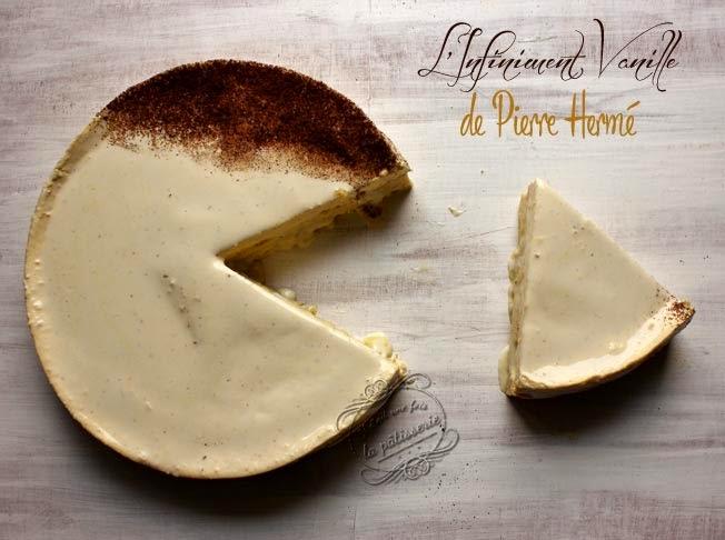 tarte infiniment vanille de pierre hermé : il était une fois la