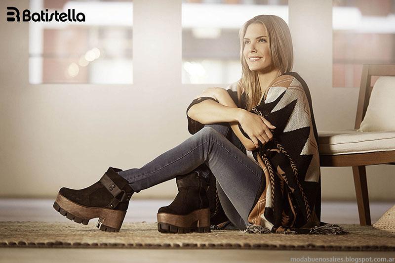 Moda otoño invierno 2015 Batistella botas, borcegos, zapatos invierno 2015.