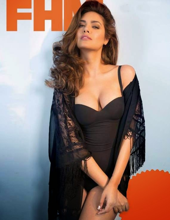Esah Gupta Latest Hot FHM Magazine Photo Gallery