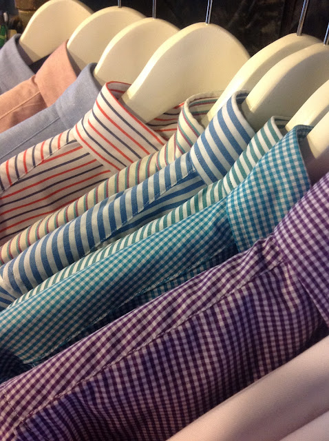 Shirts from Singapore's Crawford and Sons