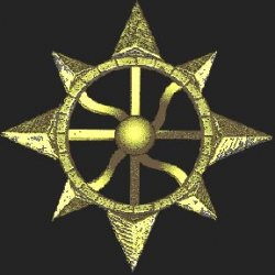 The Symbol of the Sumerian sun god Enlil
