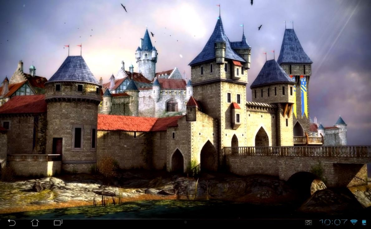 Castle 3D Free live wallpaper   Android Apps on Google Play
