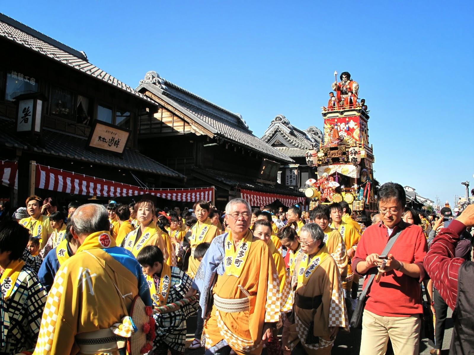 Kawagoe Festival 2014