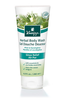 Kneipp, Kneipp body wash, Kneipp shower gel, Kneipp Mint & Eucalyptus Sinus Relief Body Wash, body wash, shower gel