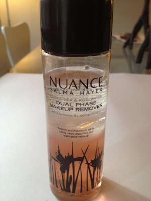 Nuance Salma Hayek Cucumber & Rosewater Dual Phase Makeup Remover Review
