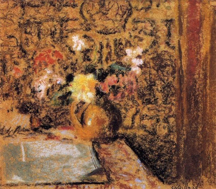 Édouard Vuillard 1868-1940 | French Nabi Painter | The Post-Impressionist Flowers