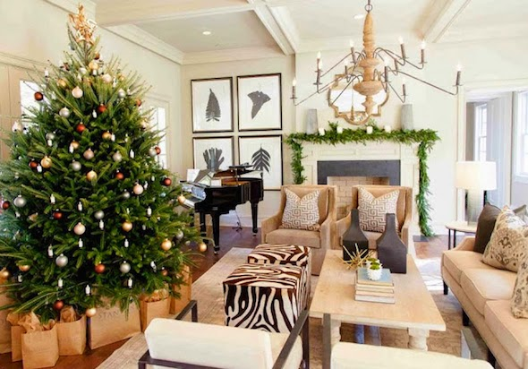 design by the details christmas trees la dolce vita. Black Bedroom Furniture Sets. Home Design Ideas