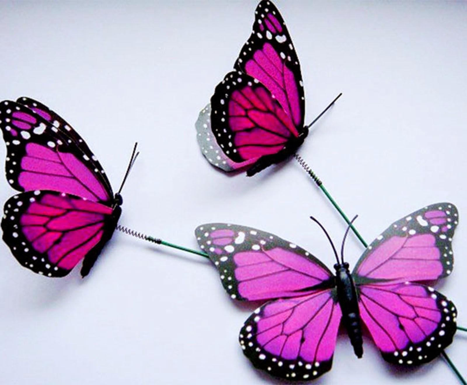 Figuras personalizadas boda y ramos de mariposas para - Imagenes de mariposas de colores ...