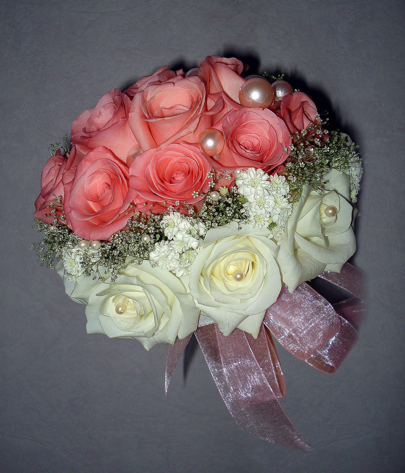 Букеты на свадьбу своими руками фото с живыми цветами 86