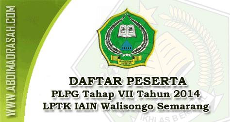 Peserta PLPG IAIN Walisongo Semarang