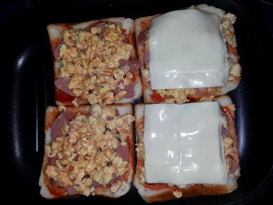 Roti Bakar Cheese
