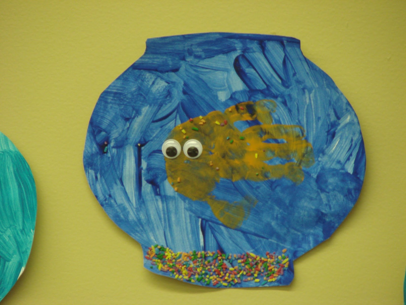 Beautiful chaos preschool f is for fish for Fish crafts for preschoolers