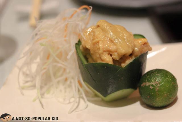 Unagi Sashimi of Kai Restaurant