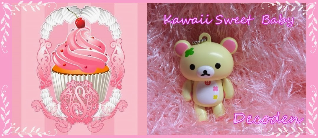 Kawaii Sweet Baby.Decoden y productos kawaii