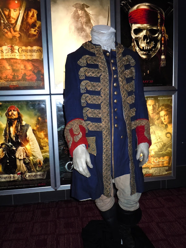 Pirates of the Caribbean 4 Barbossa costume