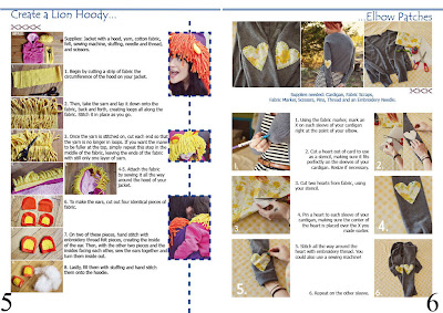Natali Topliff - Magazine for Art and Craft Hobbyists, Pages 5 and 6