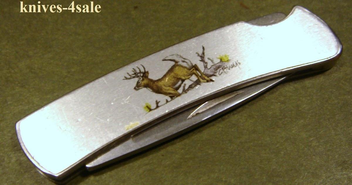 Knives 4sale Buck 525 C Usa Stainless Gents Lockback