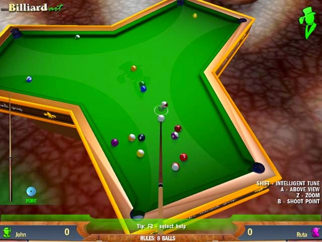 Free Download Billiard Art-Game Olah-Raga Ringan