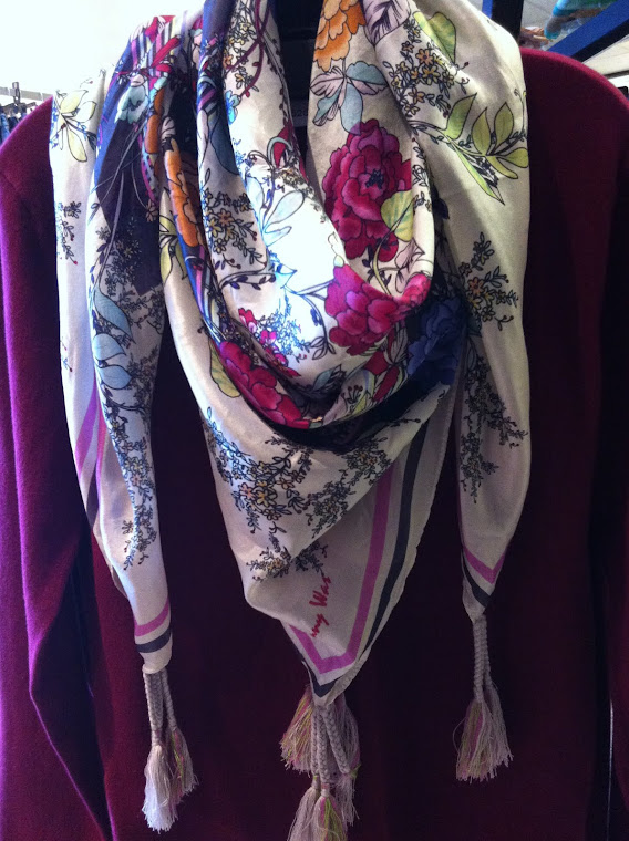 Spring Arrives with scarves by Johnny Was