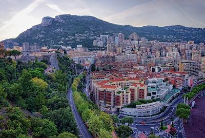 Ciudad de Montecarlo en Mónaco