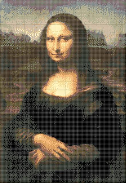 shema na goblen, Mona Liza