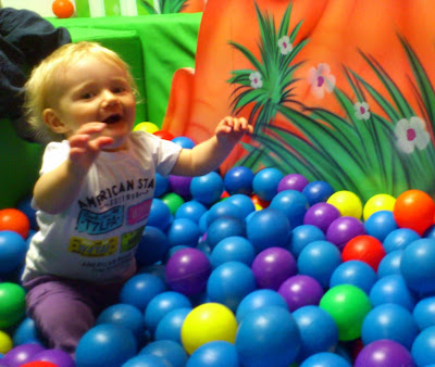Single Mother Ahoy Clownabout Ball Pit