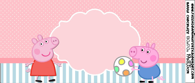 Peppa Pig: Free Printable Labels and Toppers.   Is it for PARTIES? Is ...