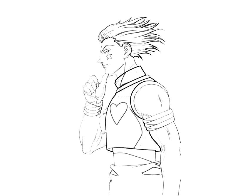 printable-hisoka-pose-coloring-pages