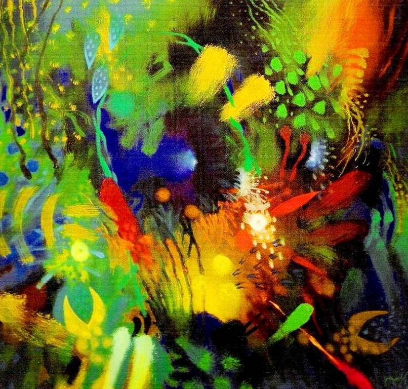 Cuadros abstractos modernos para sala imagui for Imagenes cuadros abstractos juveniles