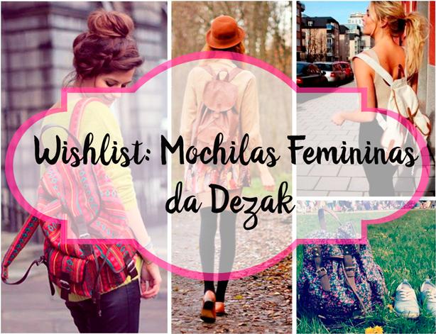 Wishlist, Mochilas, Femininas, Dezak
